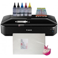Edible A3 Printer Bundle, Canon IX6850, with Edible Ink Accessory Pack & Wafer Paper.