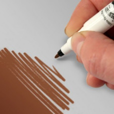 Food Art Pen - Chocolate, with a fine and a broad nib. - 2 pens in 1.