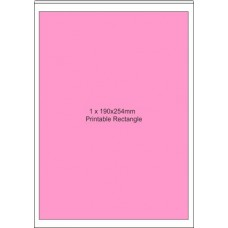 10 x A4 Printable Edible  Icing Sheets - 1 Printable Area of 190mm x 250mm per Sheet